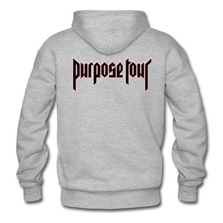 purpose tour hoodie back