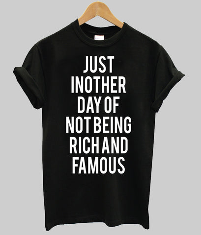 rich and famous T shirt