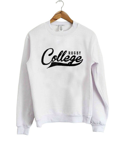 rugby college sweatshirt