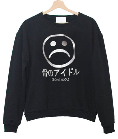 sad face sweatshirt