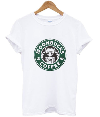 sailor moon moonbucks parody tshirt