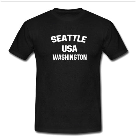 seattle usa T shirt