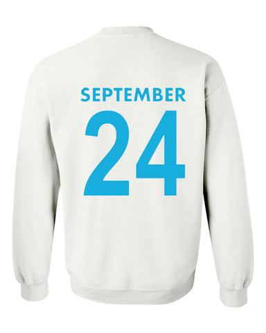 september 24 sweatshirt