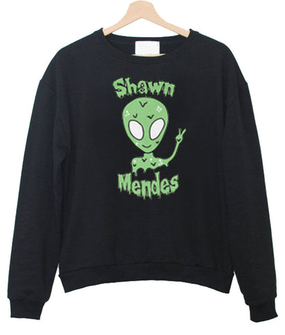 shawn mendes alien sweatshirt