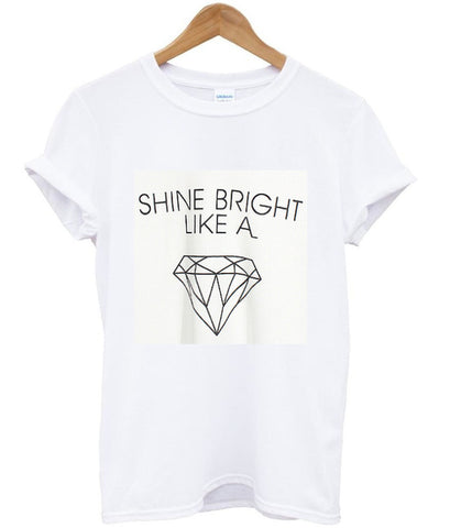 shine bright tshirt