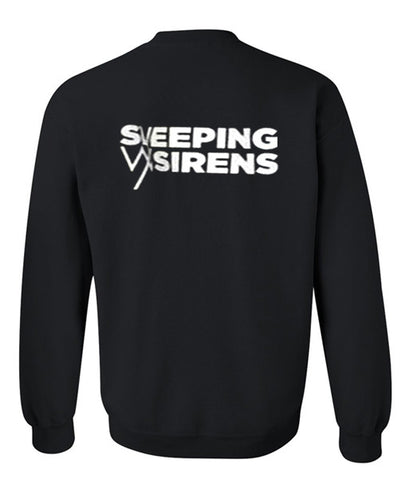 sleeping siren sweatshirt back