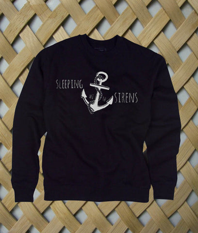 Sleeping With Sirens Logo Anchor Sweatshirt