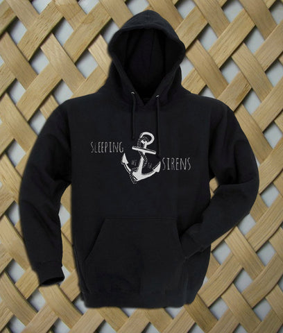 Sleeping With Sirens Logo Anchor1 Hoodie