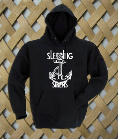 Sleeping With Sirens Logo Anchor Hoodie
