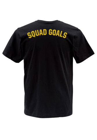squad goals T shirt back