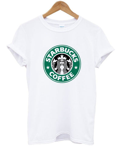 starbucks coffee T shirt