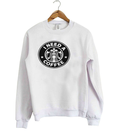 starbucks coffee sweatshirt