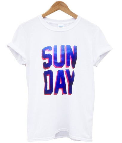 sunday t shirt