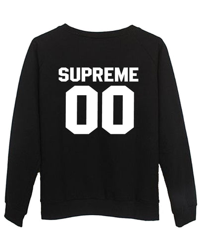 supreme sweatshirt BACK