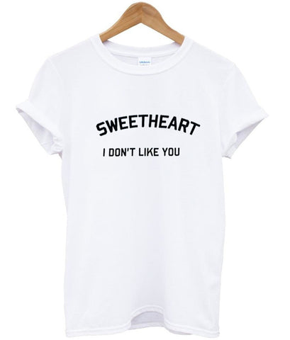 sweetheart T shirt