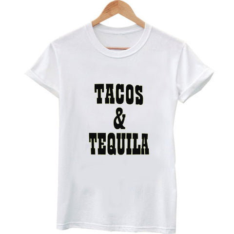 tacos and tequila tshirt