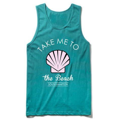 take me to the beach Tank Top