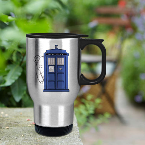 Tardis dr who Travel mug