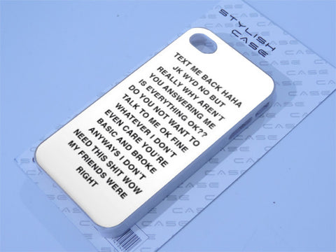 taxt me back  Phone case iPhone case