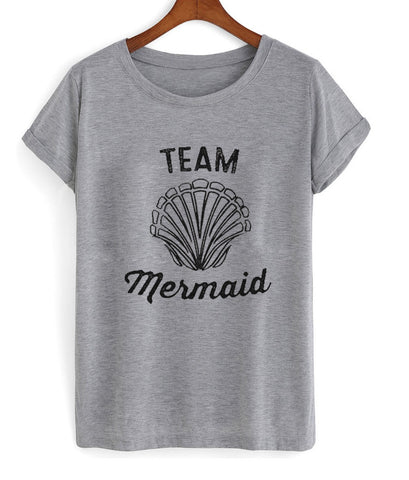 team mermaid tshirt