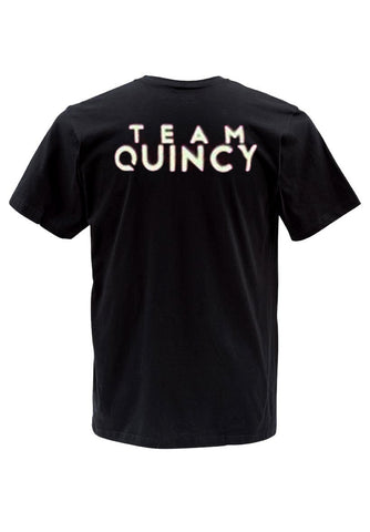 team quincy tshirt back
