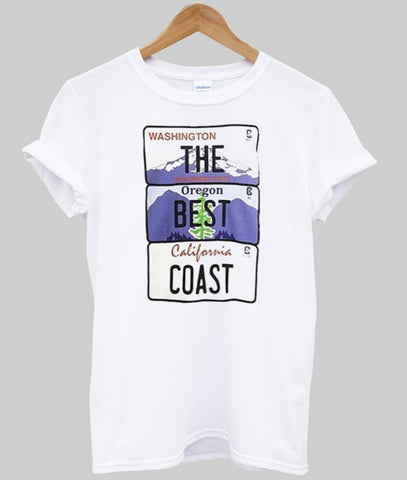 the best coast T shirt