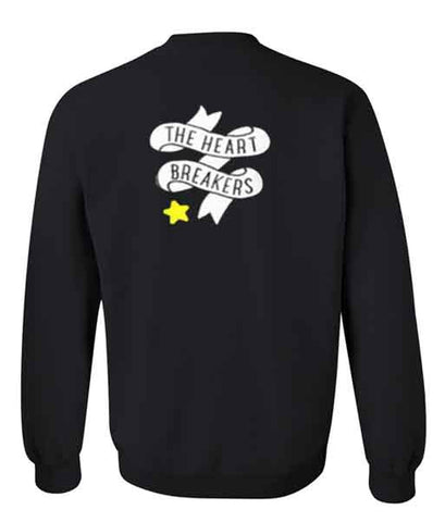the heart breakers sweatshirt back