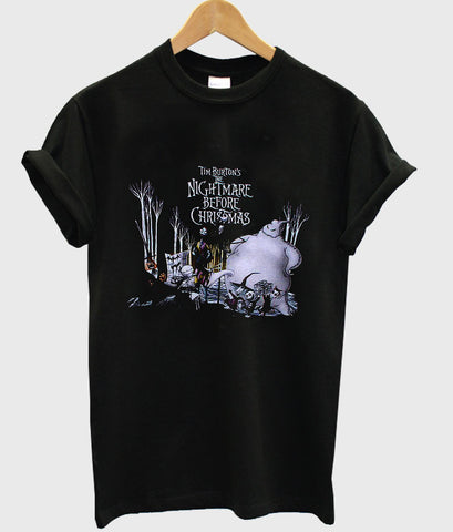 the nightmare before christmas tshirt