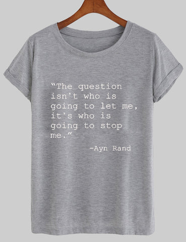 the question T shirt