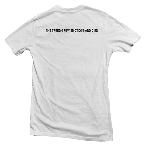 the trees T shirt back