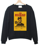 the weeknd king of the fall sweatshirt
