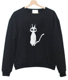 this cat sweatshirt