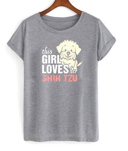this girls loves tshirt