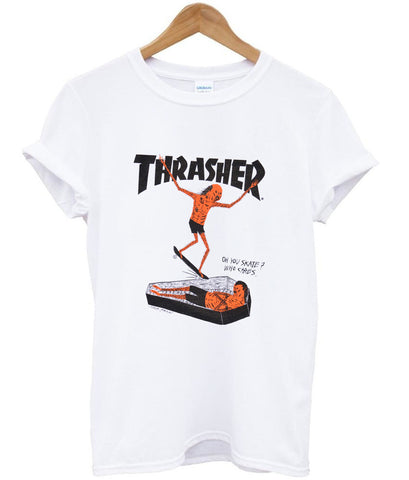 thrasher who cares Tshirt