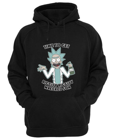 time to get riggity hoodie