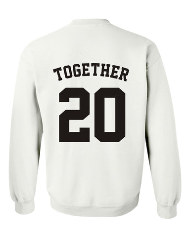 together 20 sweatshirt BACK