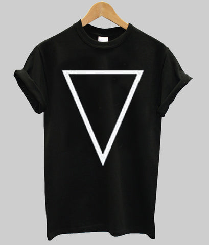triangle T shirt