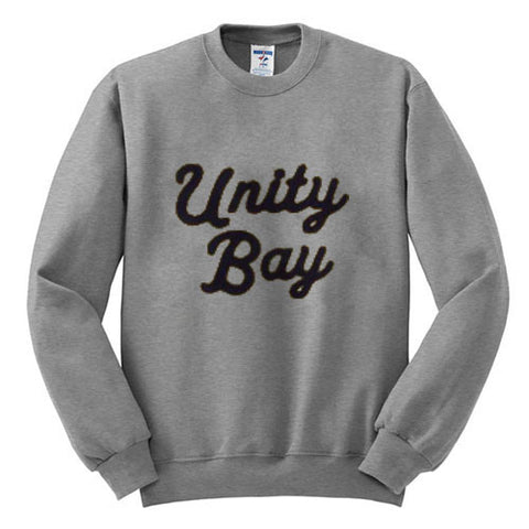 unity bay gray sweatshirt