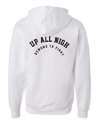 up all hoodie back