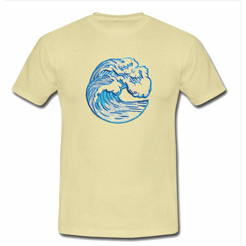 waves T shirt