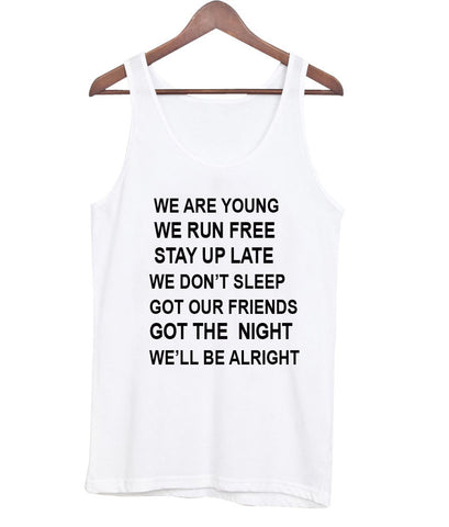 we are young tanktop