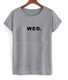 wed wednesday T shirt