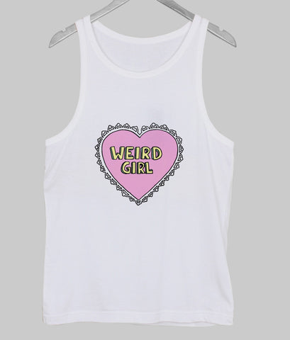 weird girl Tank Top
