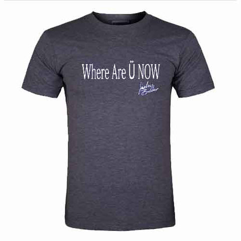 where are u now tshirt