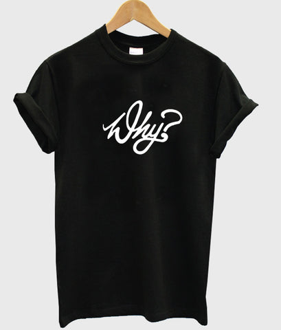 why typhography tshirt
