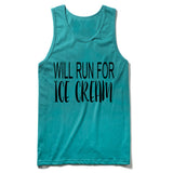 will run for ice cream Tank Top