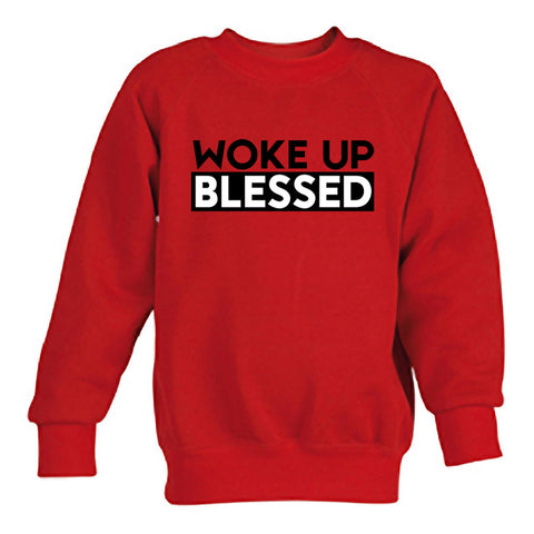 woke up blessed  switer