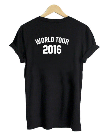 world tour 2016 tshirt back