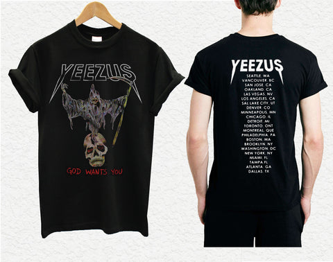 yeezus shirt yeezus skeleton yeezus tour shirt kanye west 1