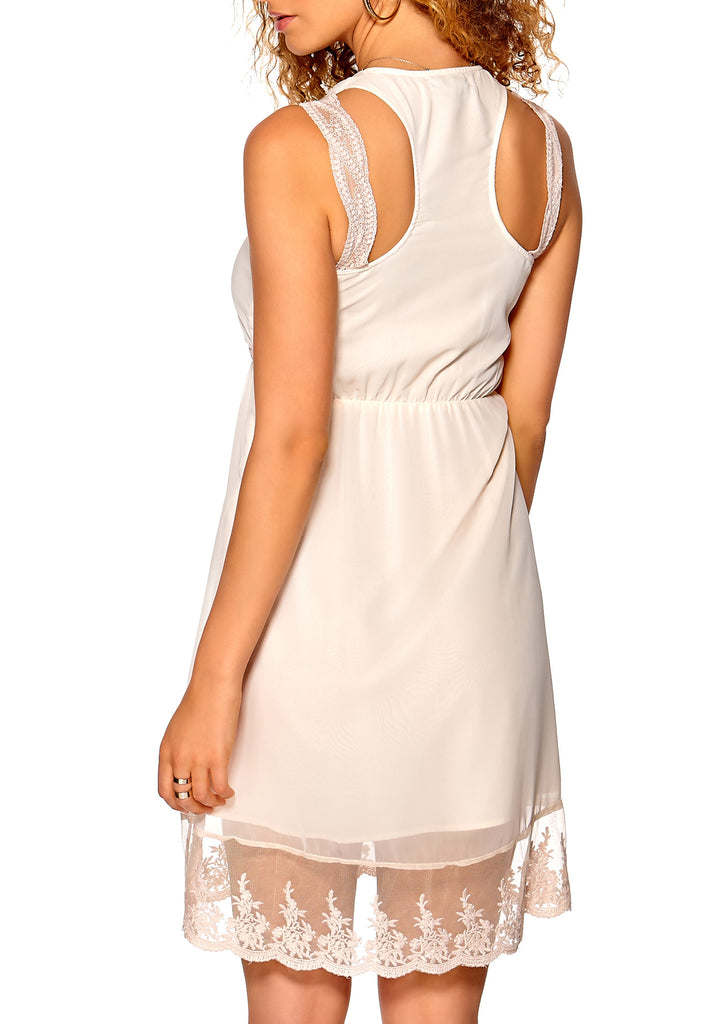 Women's fashion pretty summer dress to show off your tan - back